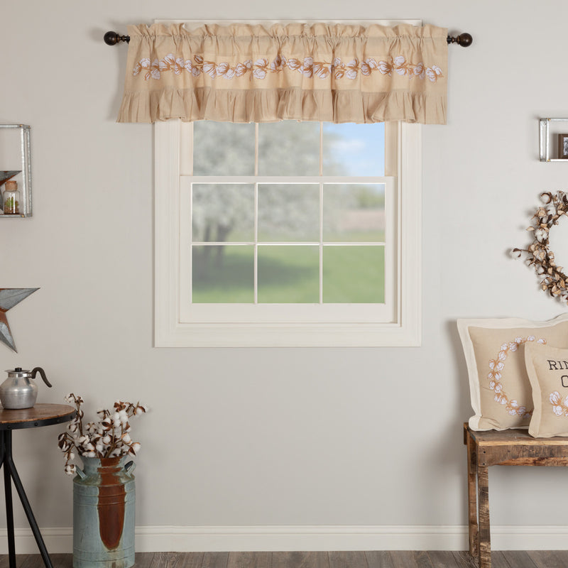 Ashmont Cotton Valance 16x90