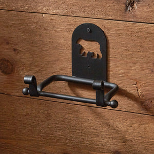 Black Bear - Toilet Tissue Holder