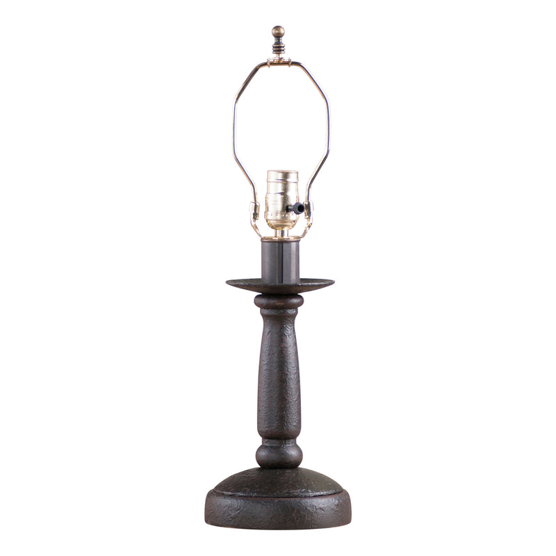 Butcher's Lamp Base in Americana Black