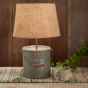 Bait Bucket Lamp with Shade