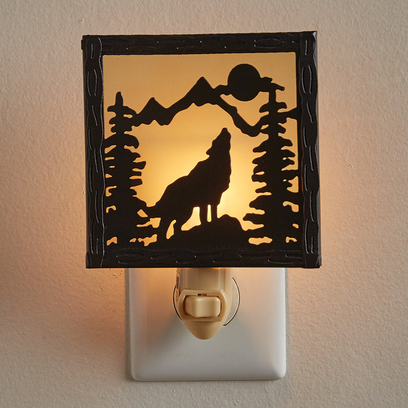 Night Light ~ Wolf