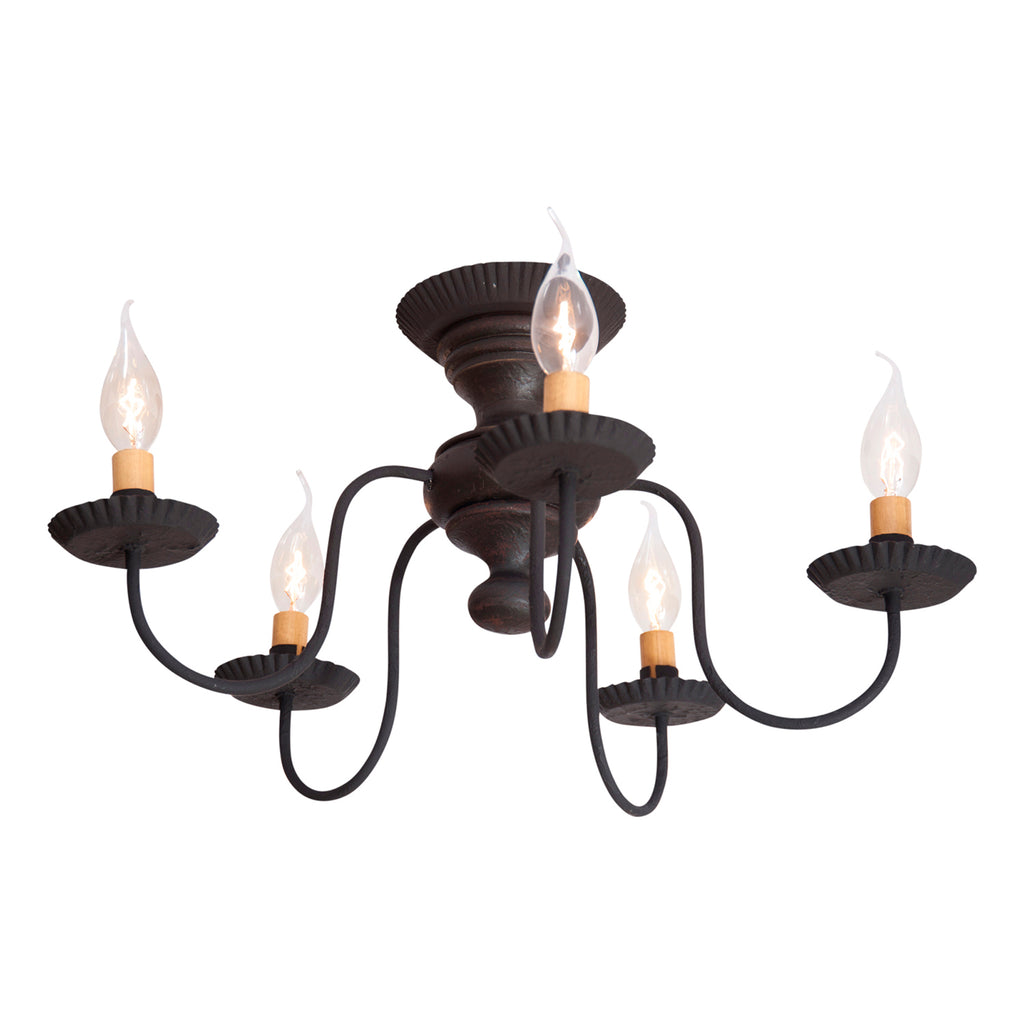Thorndale Ceiling Light in Black