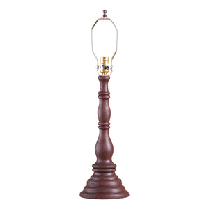 Davenport Lamp Base in Americana Red