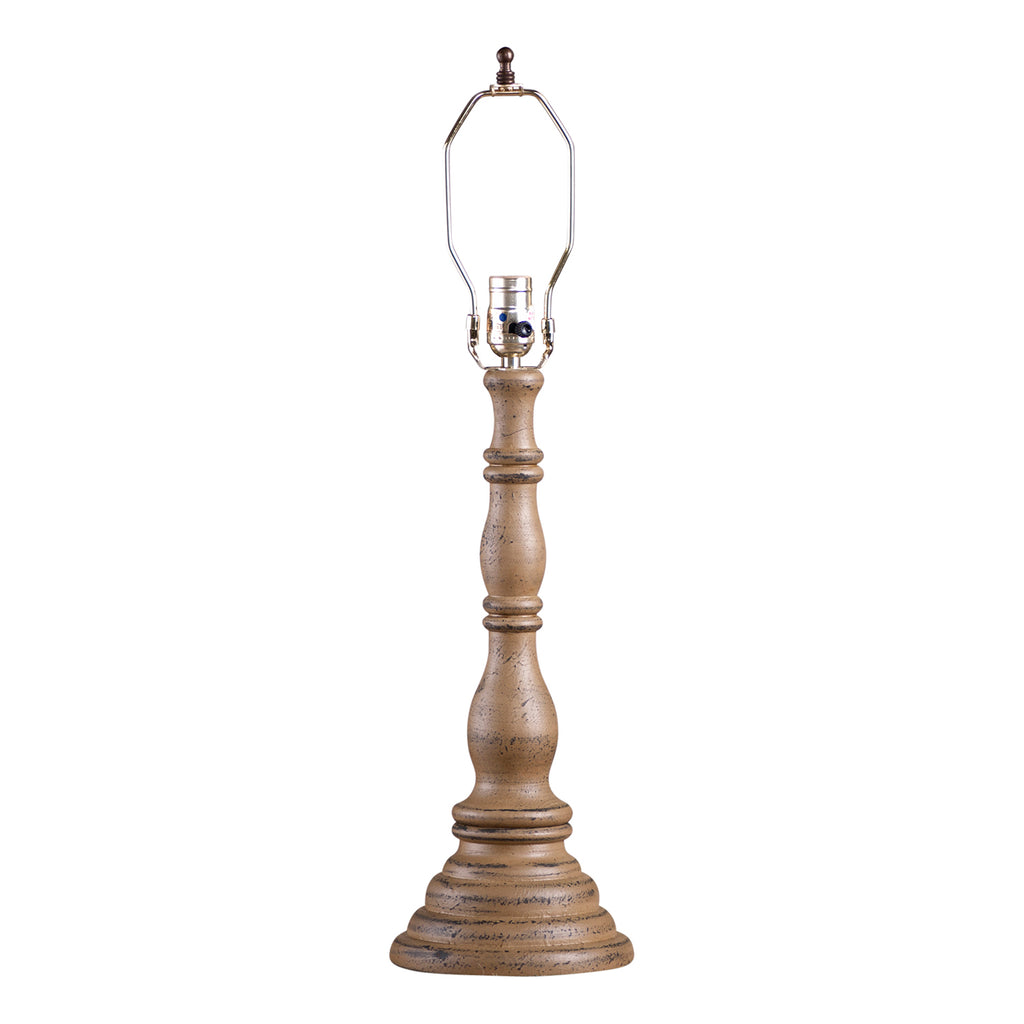 Davenport Lamp Base in Americana Pearwood