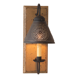 Crestwood Sconce in Pearwood