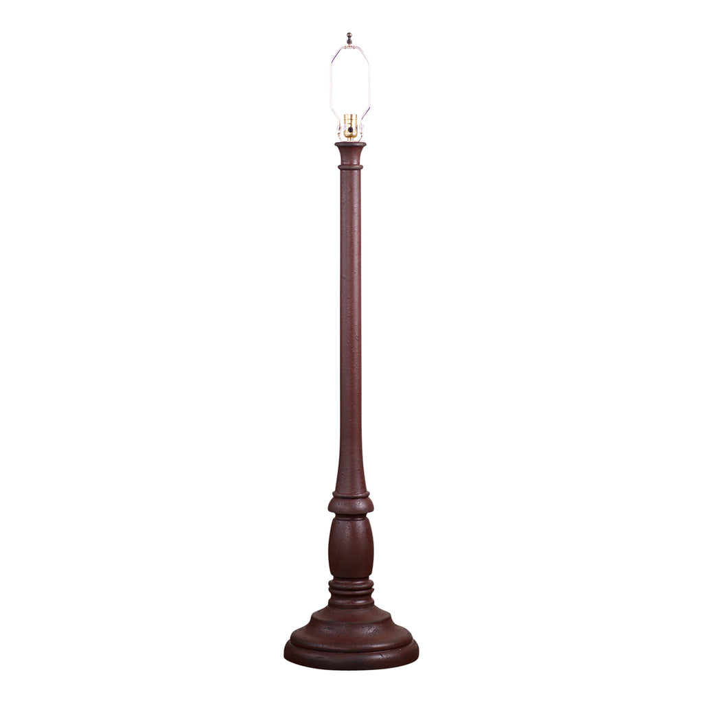 Brinton House Floor Lamp Base in Americana Red