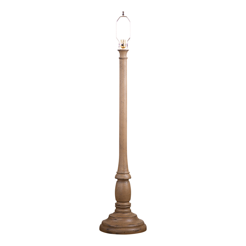 Brinton House Floor Lamp Base Americana Pearwood