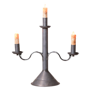 Manor House Accent Light in Blackened Tin