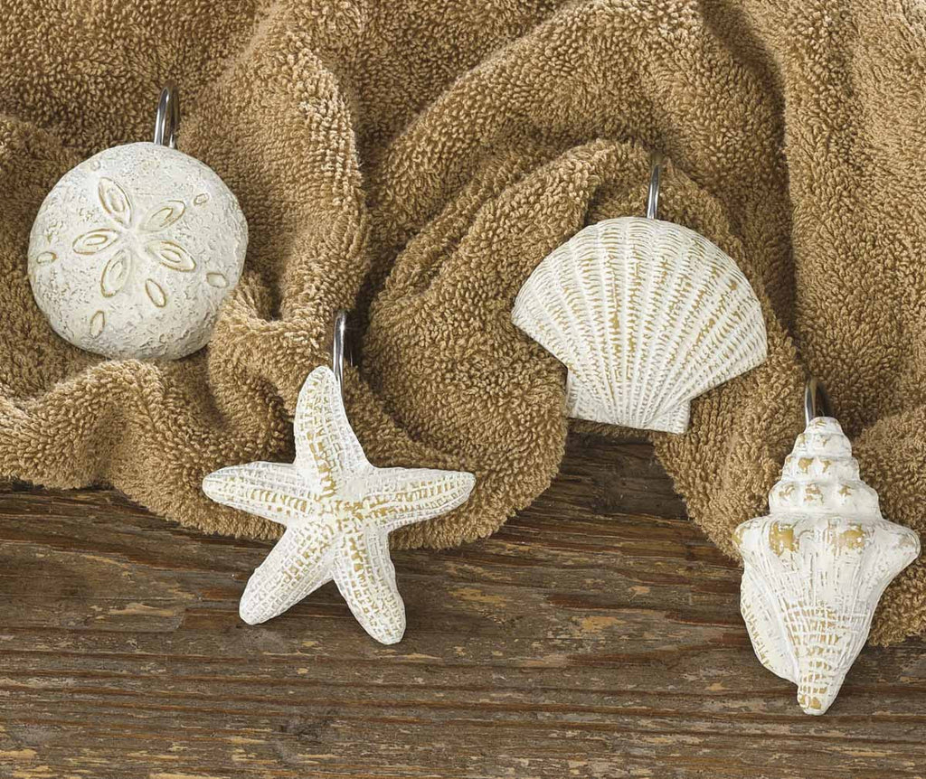 Shells Shower Curtain Hooks