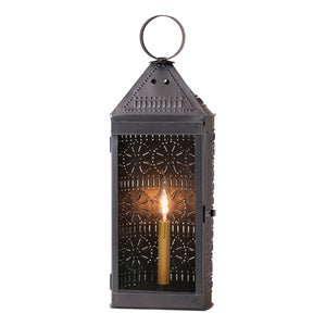 Tall Harbor Lantern in Smokey Black