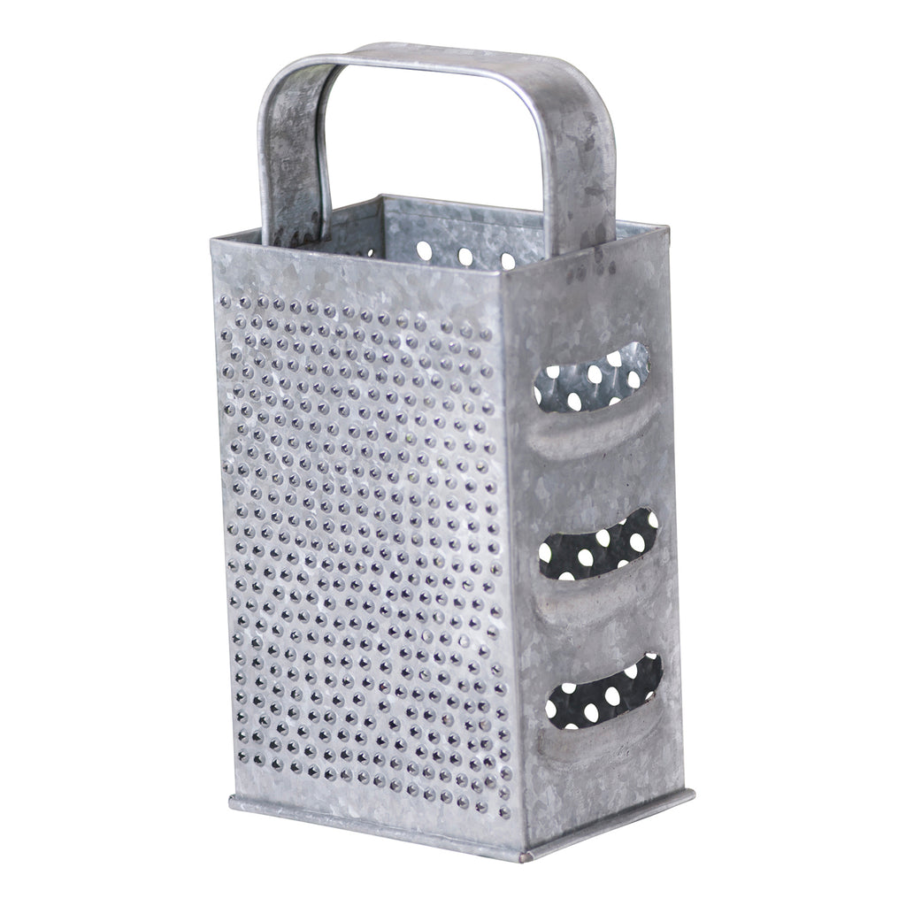 11-Inch Shredder in Galvanized Tin