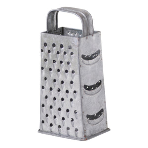 9-Inch Shredder in Galvanized Tin