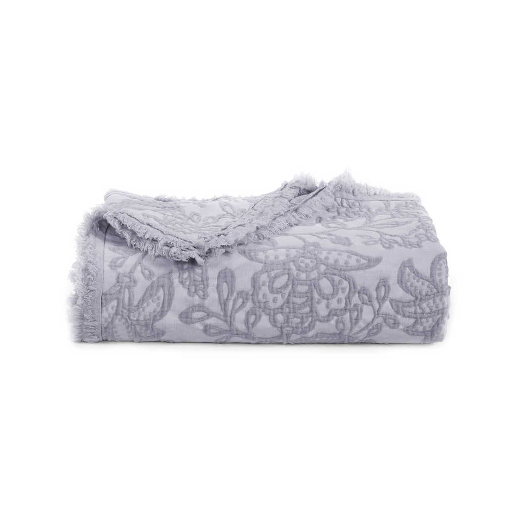 Over-Sized Toile Throw in Peri