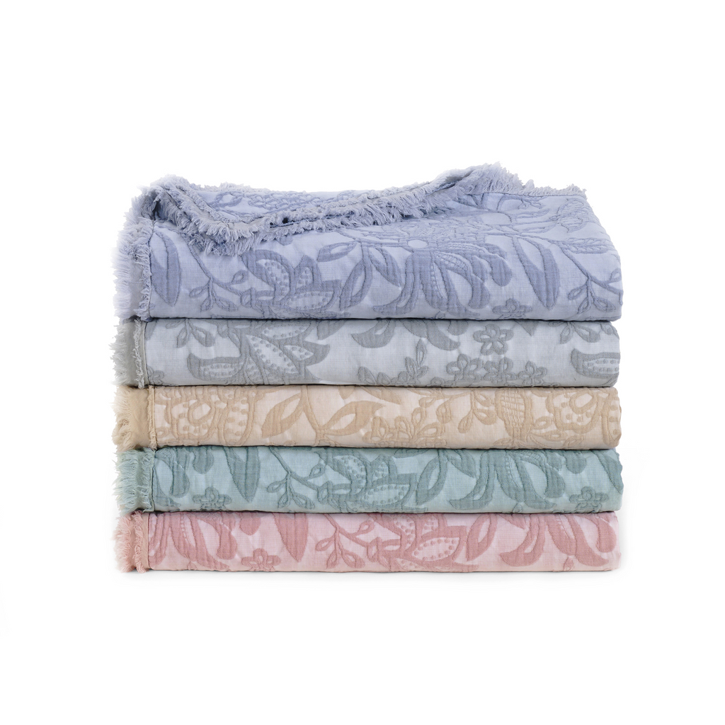 Over-Sized Toile Throws
