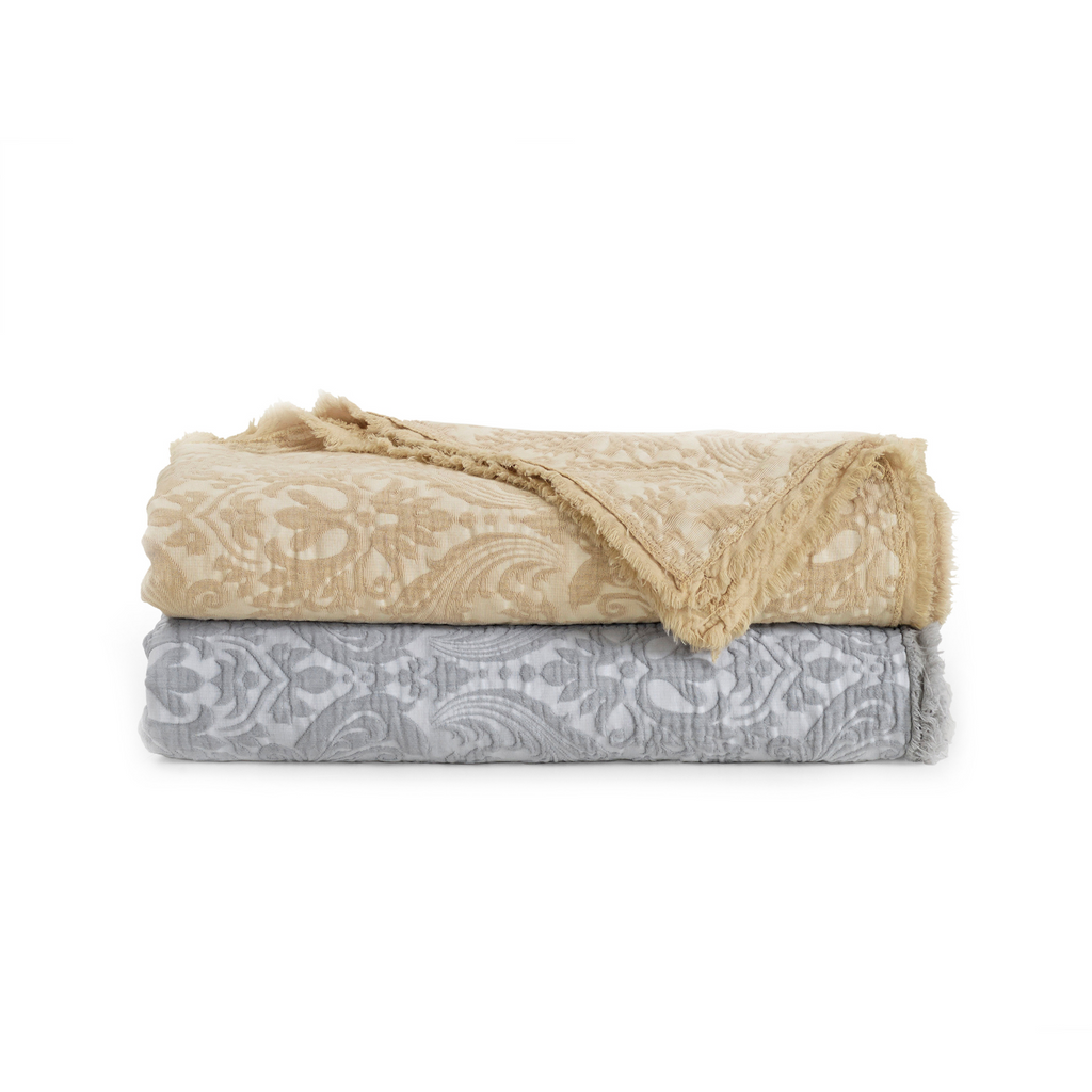 Over-Sized Damask Throws