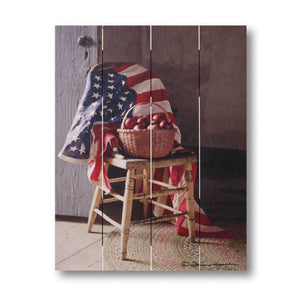 Farmhouse Pallet Wall Art ~ America III by Irvin Hoover