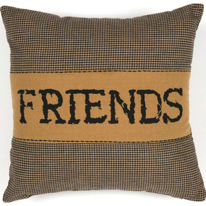 Heritage Farms Friends Pillow 12x12