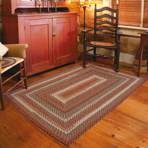 Biscotti Multi Color Cotton Braided Rug Collection