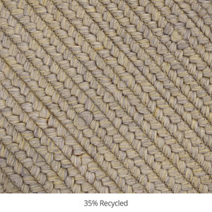 Biscuit Ultra Durable Braided Rug Collection