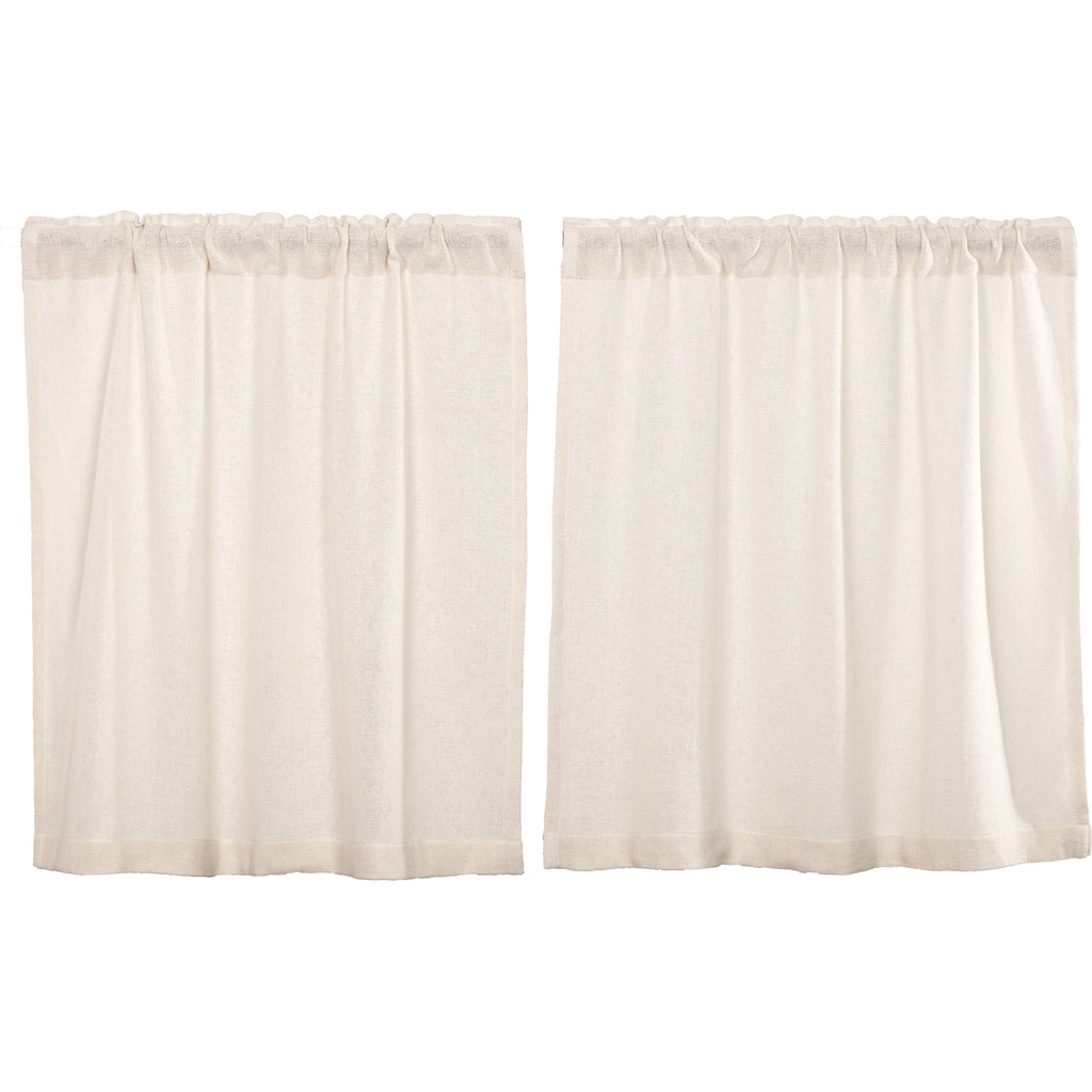 Burlap Antique White Tier Set of 2 L36xW36