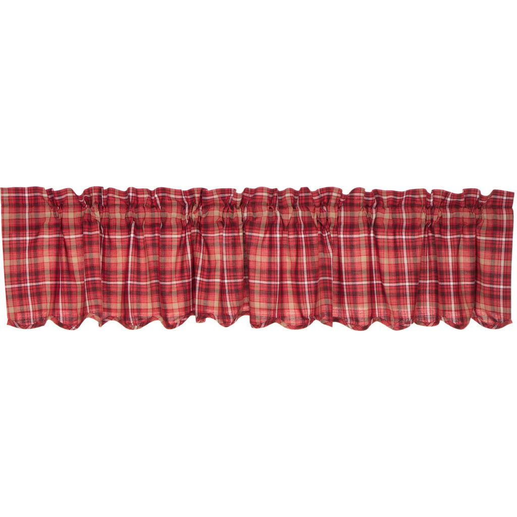 Braxton Scalloped Valance 16x90
