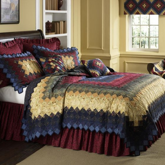 Donna Sharp Chesapeake Trip Around the World Country Primitive Quilted Collection