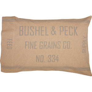 Grace Feed Sack Standard Pillow Case Set of 2 21x30