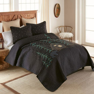Donna Sharp Evening Lodge Quilted Collection Bed Side View