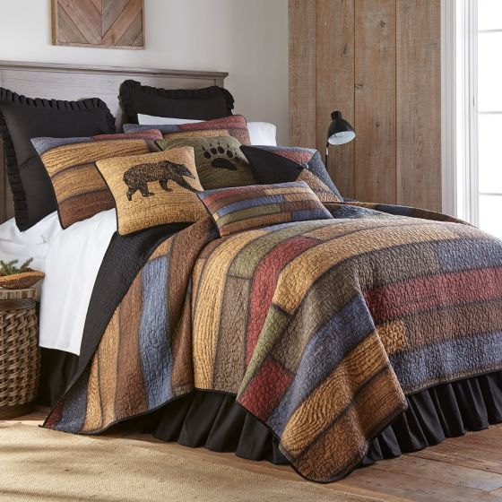 Donna Sharp Oakland Rustic Lodge Quilted Collection