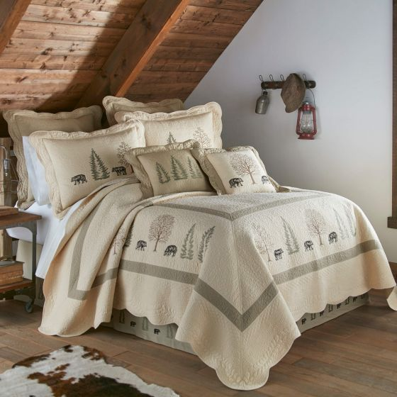 Donna Sharp Bear Creek Rustic Lodge Quilted Collection