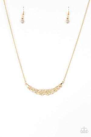 Paparazzi Whatever Floats Your YACHT Gold Necklace