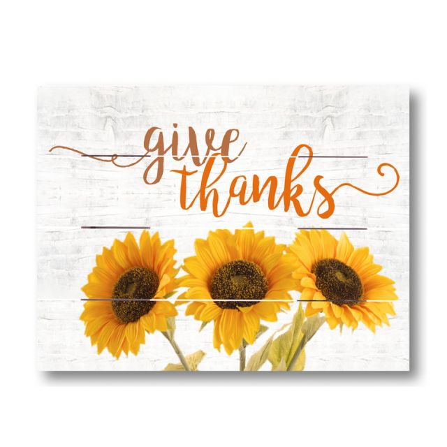 Farmhouse Pallet Wall Art ~ Give Thanks