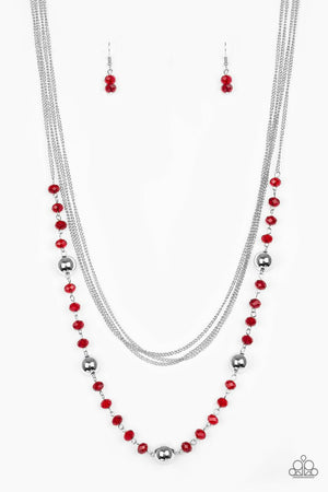 Paparazzi High Standards Red Necklace