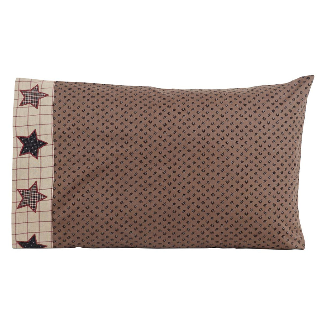 Bingham Star Standard Pillow Case Set of 2 21x30
