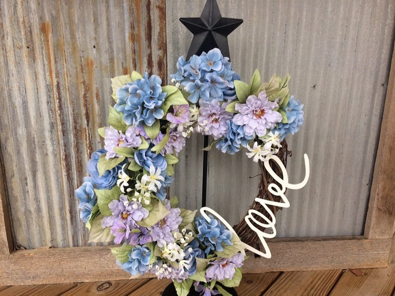 Handmade Wreath - Love
