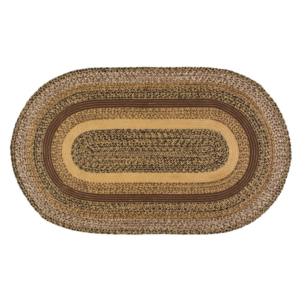 Kettle Grove Jute Rug Oval 36x60