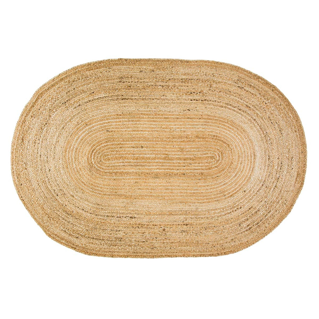 Natural Jute Rug Oval 48x72
