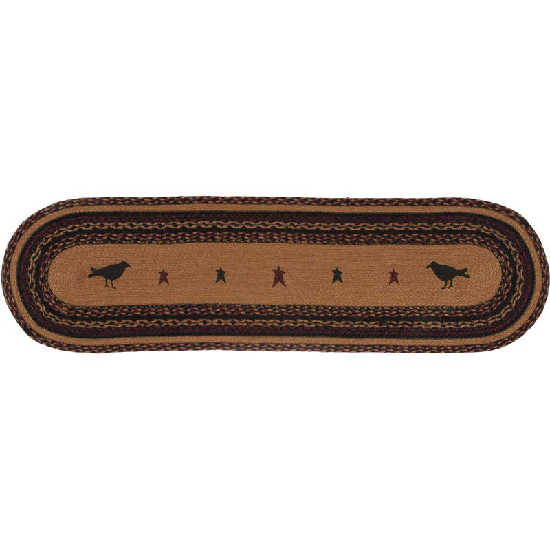 Heritage Farms Crow Jute Runner 13x48