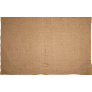 Burlap Natural Table Cloth 60x102