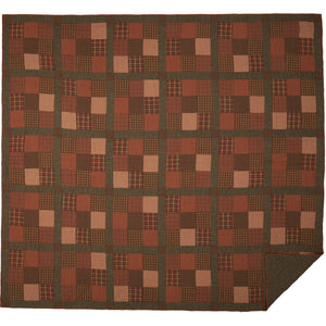 Crosswoods California King Quilt 130Wx115L