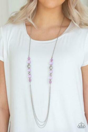 Paparazzi Native New Yorker Purple Necklace