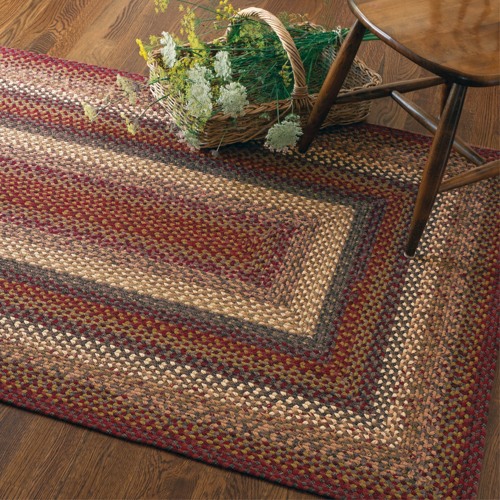 Neverland Multi Color Cotton Braided Rug Collection