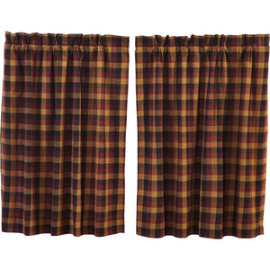 Heritage Farms Primitive Check Tier Set of 2 L36xW36