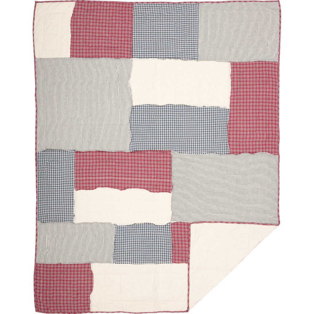 Hatteras Patch Twin Quilt 68Wx86L