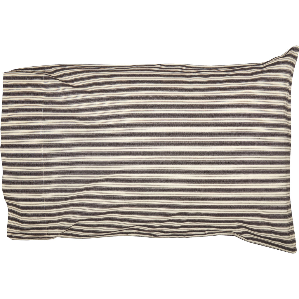 Ashmont Ticking Stripe Standard Pillow Case Set of 2 21x30