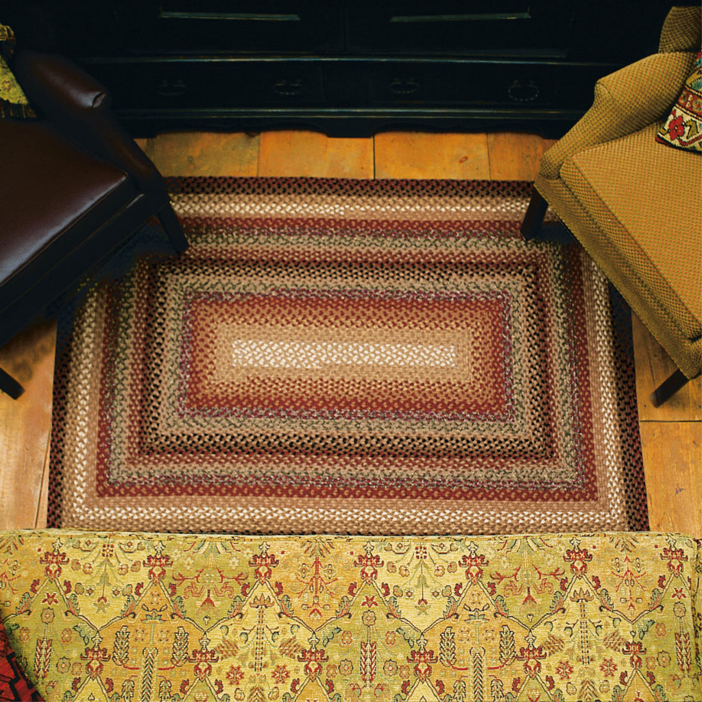 Peppercorn Multi Color Cotton Braided Rug Collection