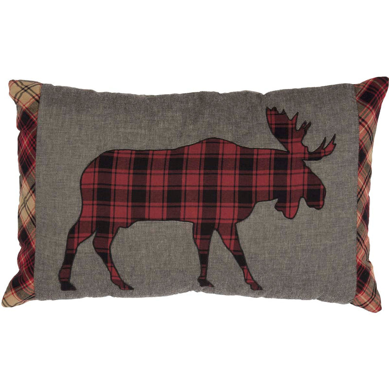Cumberland Moose Applique Pillow 14x22