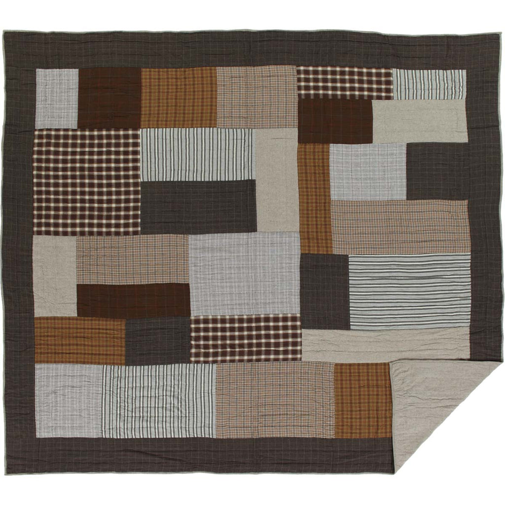 Rory King Quilt 105Wx95L