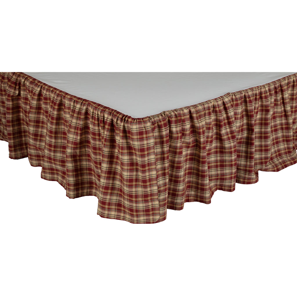 Beckham Plaid Queen Bed Skirt 60x80x16