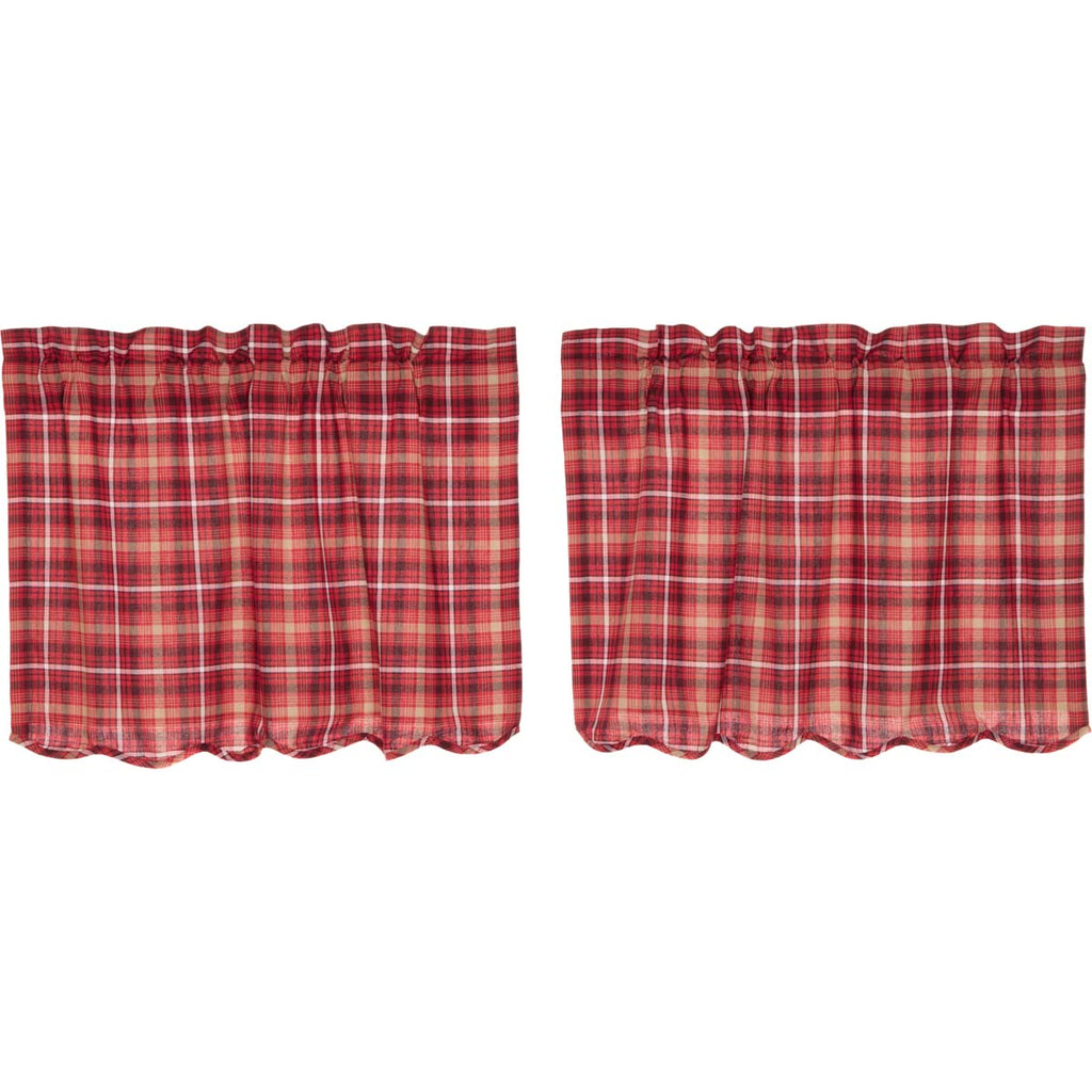 Braxton Scalloped Tier Set of 2 L24xW36